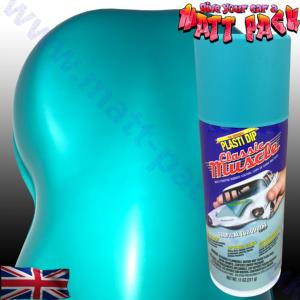 PlastiDip Classic Muscle Tropical Turqouise Matte Aerosol
