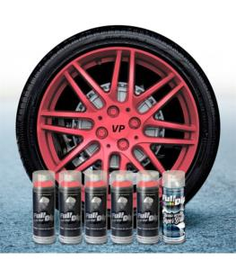 FullDip Wheel Kit - Metallic - PINK - Gloss