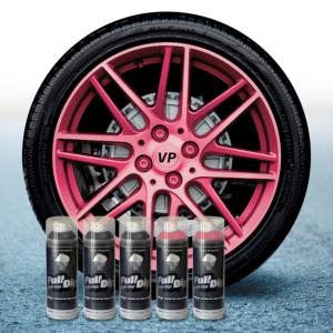 FullDip Wheel Kit - Pearl - PINK CANDY - Matte