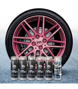FullDip Wheel Kit - Pearl - PINK CANDY - Gloss