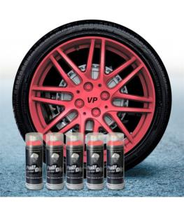FullDip Wheel Kit - Metallic - PINK - Matte